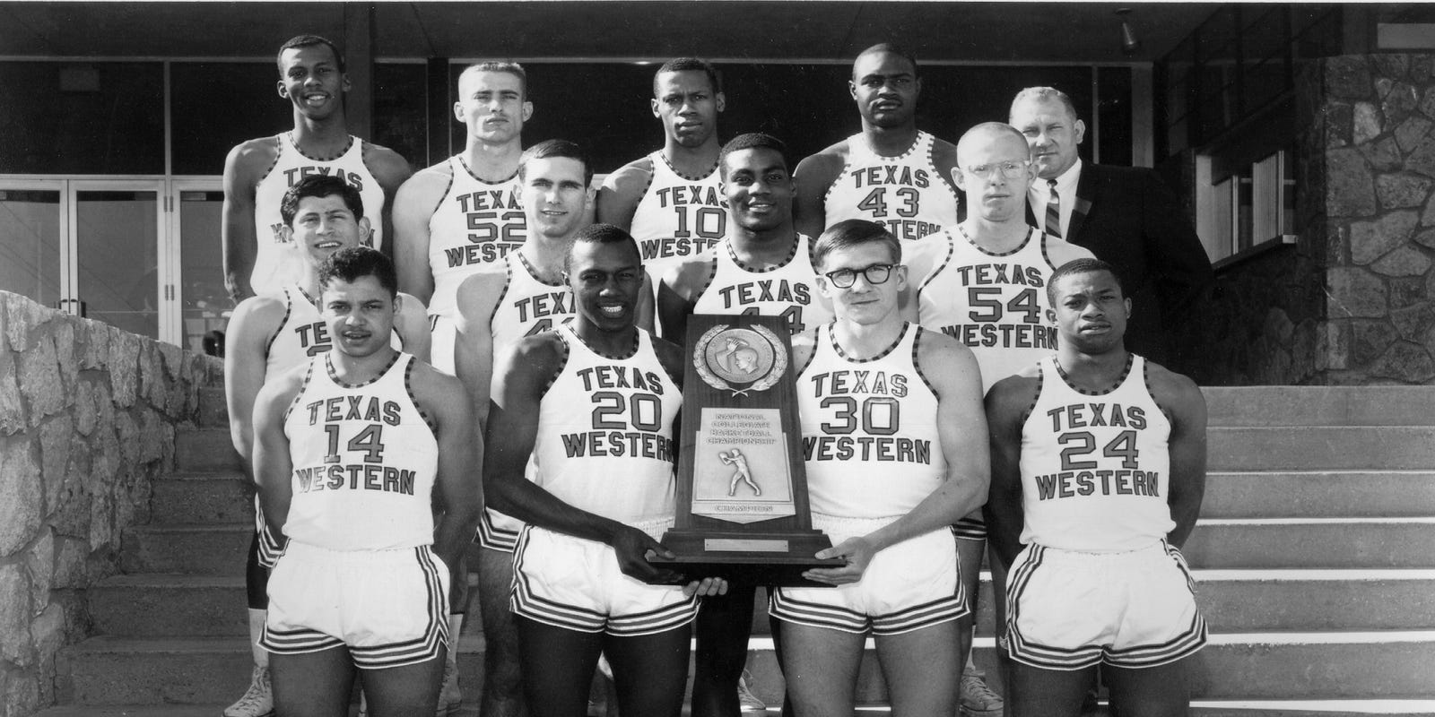 Image result for texas western basketball 1966