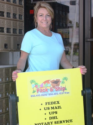 Perdido Pack & Ship owner Vicky Chandler has launched a campaign to share with the community what her business provides.