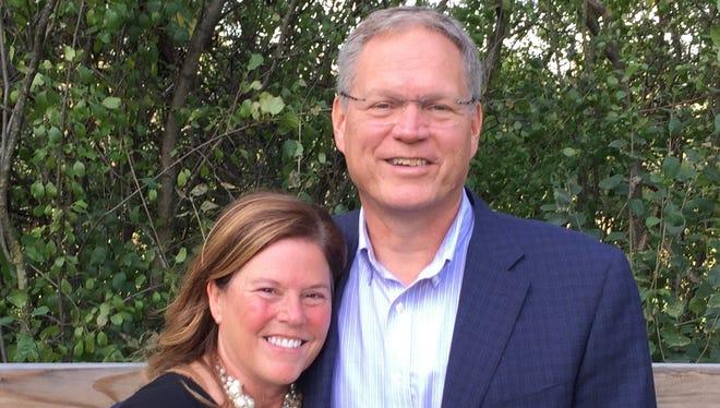 Janice and Mark Franzen