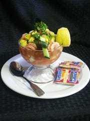 With summer fast approaching a cool shrimp (camaron)