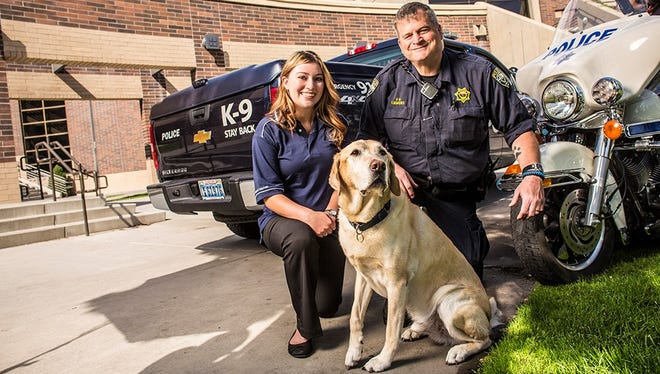 University Police Services is mourning the loss of Turner, a 13-year-old explosive detection canine. Turner died Wednesday.