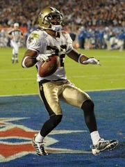 Tracy Porter etched his place in NFL history with a