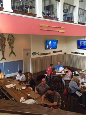 The Pilot Town Fish Co. in Milton offers happy hour specials Monday through Friday from 3 to 6 p.m. and Saturday from noon to 5 p.m.