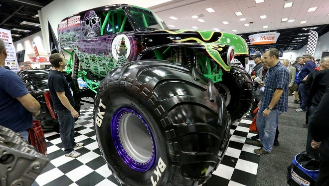 The PRI trade show returns to Indianapolis on Thursday. This is the famous monster truck Grave Digger from the 2015 show.