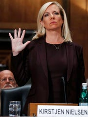 Kirstjen Nielson, the new Homeland Security director,