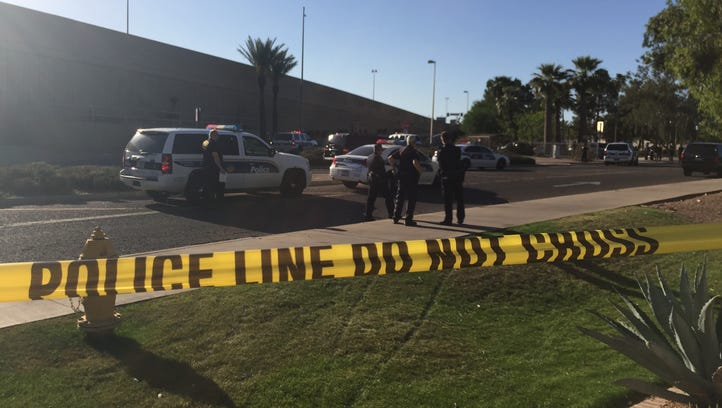 A Phoenix police officer was injured and a suspect