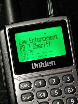 A digital police scanner