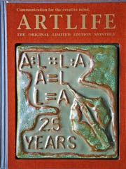 The final cover of ARTLIFE, produced by Joe Cardella