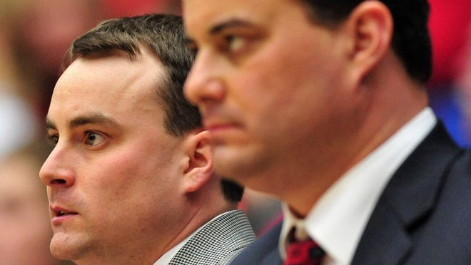 Archie (left) and Sean Miller are both in the Elite Eight.