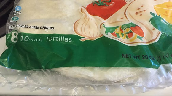 The tortillas in the eight-pack are slightly smaller than the ones in the six-pack.