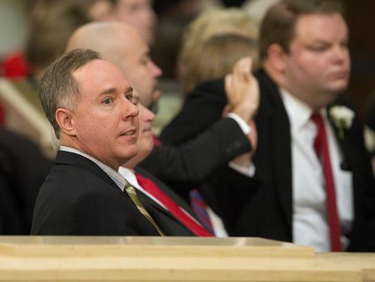 Assembly Speaker Robin Vos (R-Rochester).