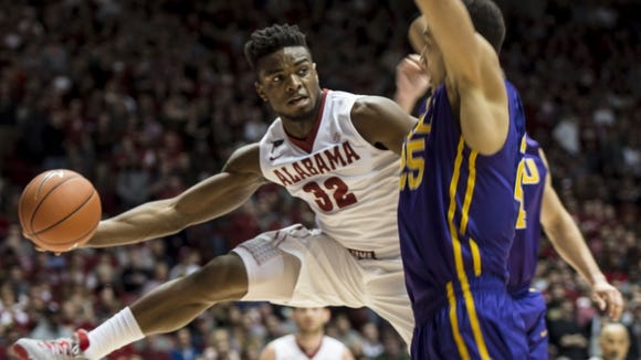 Retin Obasohan has scored 47 combined points in Alabama's last two games, but has missed key shot down the stretch of the two defeats.