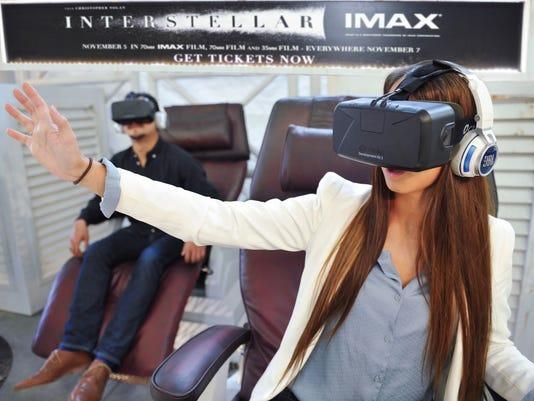 3D 'Interstellar' in Oculus Rift virtual reality exhibit