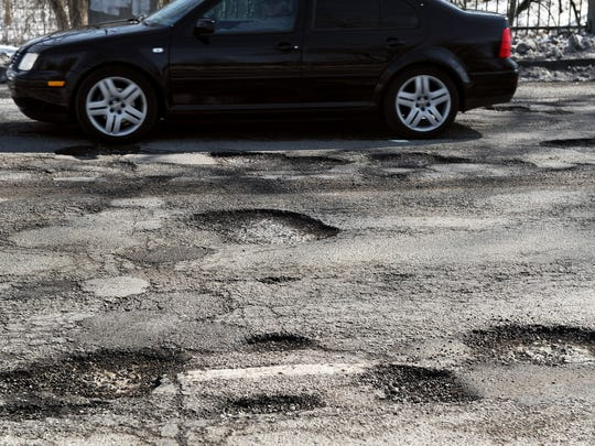Road resurfacing projects will be a welcome sight for