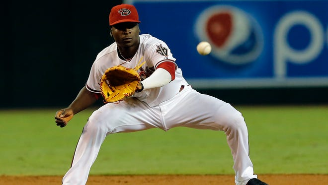 The Yankees picked up Arizona shortstop Didi Gregorius in a three-team trade on Friday.