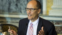 Former Labor Secretary Tom Perez is a candidate for