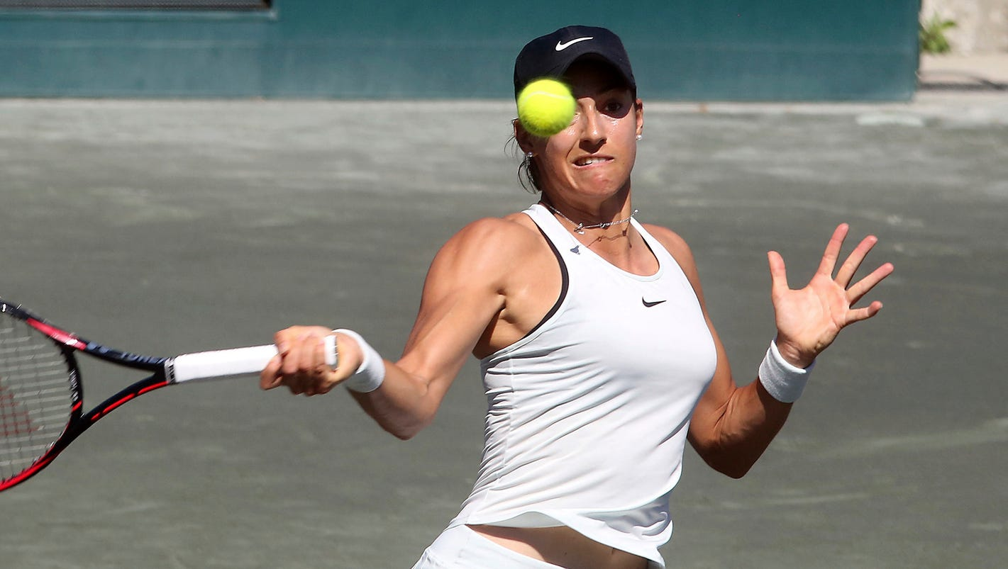 Top-seeded Caroline Garcia loses to Alize Cornet in third round at Charleston