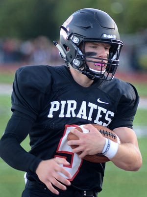 Quarterback Jack Wurzer and his Pinckney football teammates hope to improve to 3-1 when they host South Lyon.