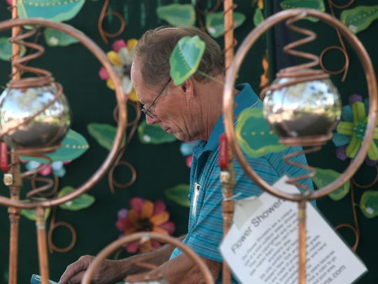 This year's Art In The Park will be Saturday and Sunday at Memorial Park in downtown Stuart.