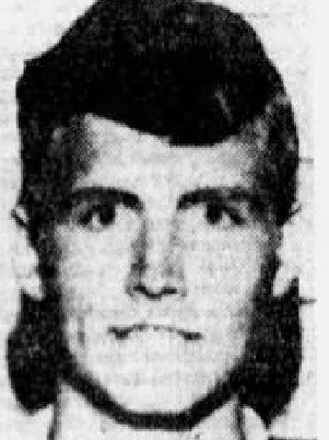 A mugshot of Ricky Tison in an archive from The Arizona