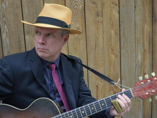 Michael Jerome Browne plays a show Saturday at the