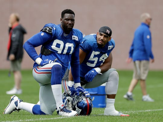 Jason Pierre-Paul, Olivier Vernon and the Giants are looking to turn their season around.