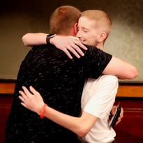 Young Appleton man meets bone marrow donor