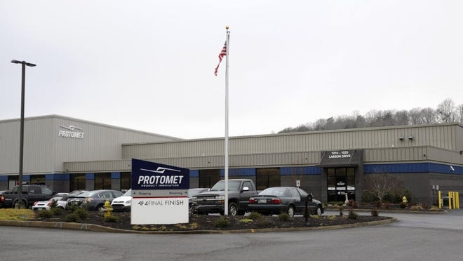 Oak Ridge-based Protomet Corp., plans to expand its facility and add about 200 jobs over the next five years Tuesday, Feb. 2, 2016. The company is considering moving out of the Oak Ridge area because of a lack of room to grow further.  (AMY SMOTHERMAN BURGESS/NEWS SENTINEL)
