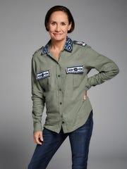 Laurie Metcalf (Roseanne's sister, Jackie Harris):