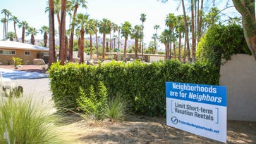 Could the fate of short-term rentals in Palm Springs be headed to a public vote — almost 2 years from now?
