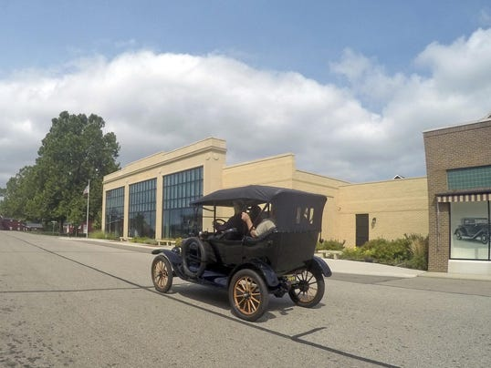 Model T Driving Lessons