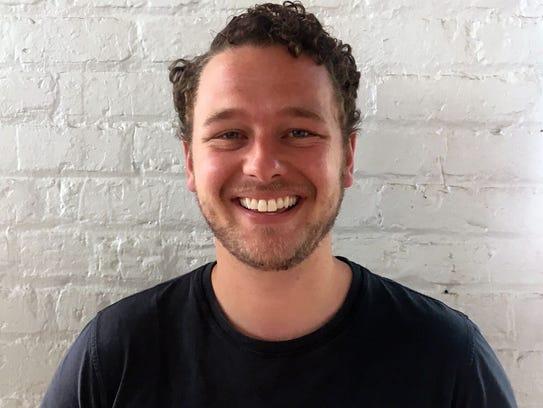 Luke Saunders founded Farmer's Fridge in 2013 to offer