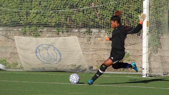 Yonkers Montessori junior goalkeeper Milagros Moye is the #lohudgirlssoccer Player of the Week.