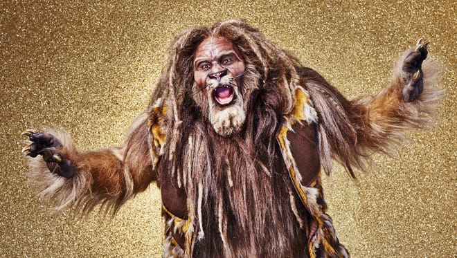 David Alan Grier as the Cowardly Lion in  NBC's 'The Wiz Live!'