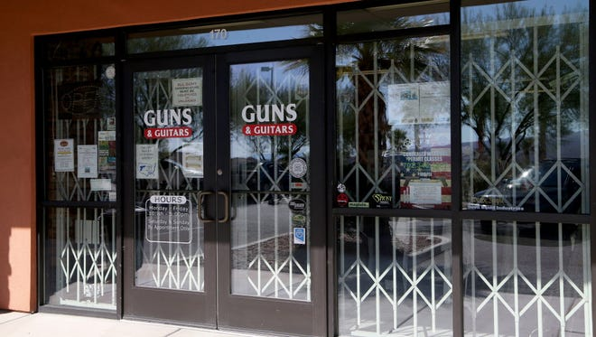 Guns & Guitars, where Stephen Paddock purchased firearms in Mesquite, Nev.
