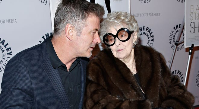 """Alec Baldwin and Elaine Stritch attend the """"Elaine Stritch: Shoot Me"""" screening at Paley Center For Media on Feb. 19 in New York City."""