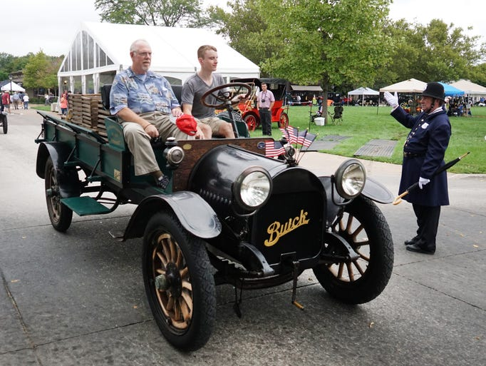 Old Car Festival At Greenfield Village