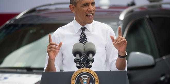 """President Obama derided a congressional plan to extend the Highway Trust Fund as a """"short-term fix"""" that does not put road and bridge construction on a sound basis for the long haul."""