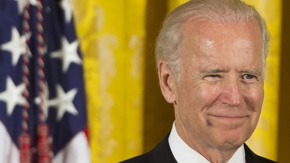 "President's Obama's spokesman heaped praise on Joe Biden during a White House briefing on Monday, saying there is ""probably no one"" who better understands how to win the 2016 presidential race."