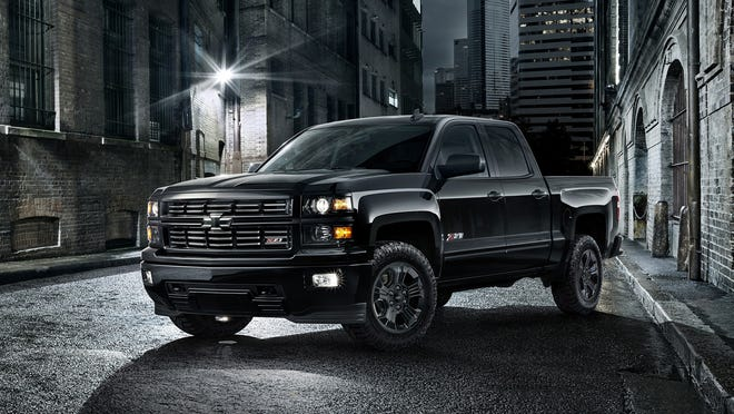 Chevrolet said up to 5,000 Silverado Midnight special editions will be produced in the 2015 model year. Dealers can order the trucks, available in either 1500 double-cab or crew-cab, starting in February.