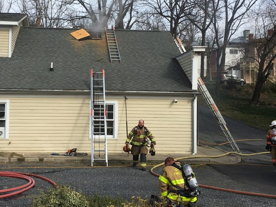 Fire damages makerspace building in staunton for Apartment makerspace