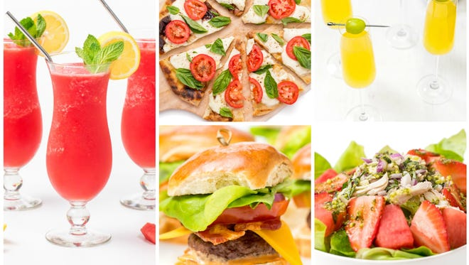 Summer food and cocktail recipes are available at Thanksgiving.com.