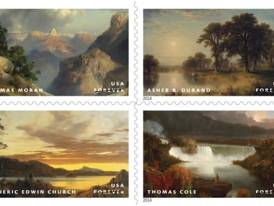 hudson river stamps
