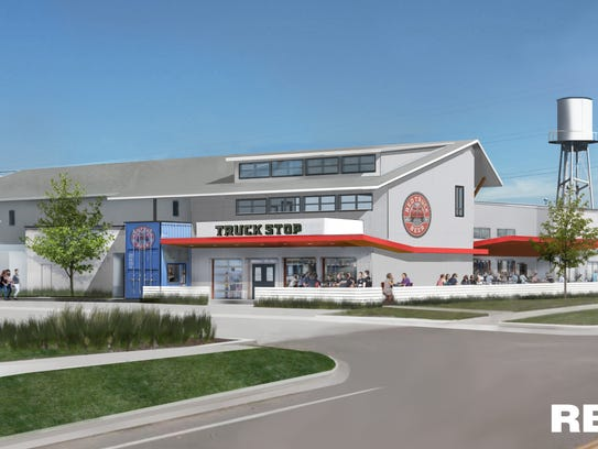 Red Truck Beer Co. has a new brewpub called Truck Stop