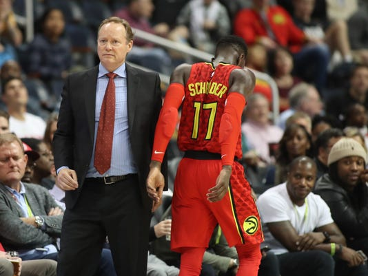 NBA: Indiana Pacers at Atlanta Hawks