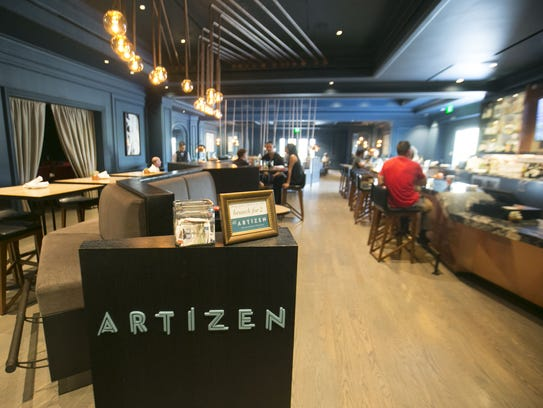 Artizen at the Camby Hotel will offer a buffet.