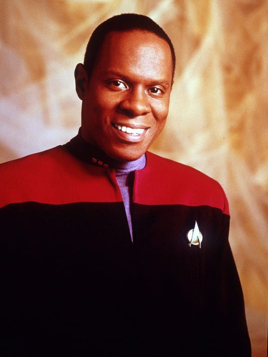 AVERY BROOKS, STAR TREK DEEP SPACE NINE