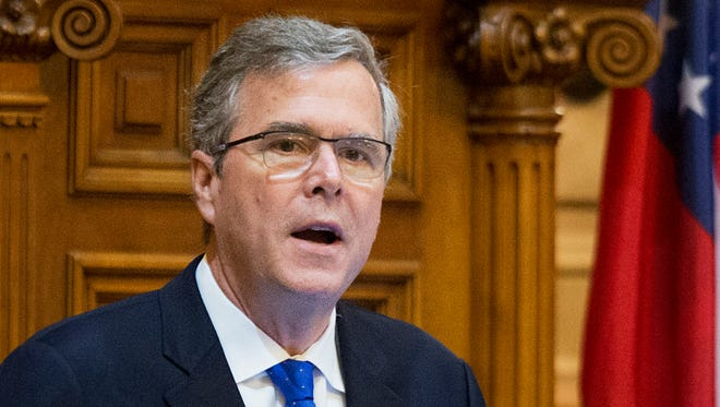 Former Florida governor Jeb Bush is weighing a 2016 presidential bid.