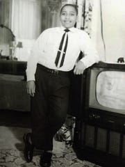 In a photo provided by his family, Emmett Till poses in Chicago about six months before he was killed in 1955 while visiting Mississippi. An April 19 forum in Okemos will discuss the case.