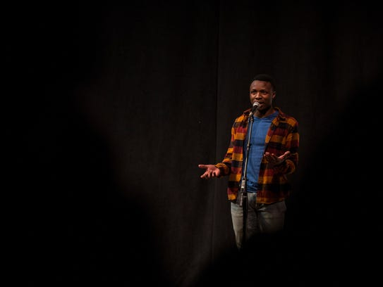 "Robert Nishimwe tells his story, ""Finding community,"""